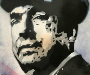 NICE ART, WHEN WALLS BECOME A GALLERY OF STENCILED PORTRAITS